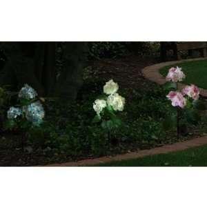 Flower Lights (Pink,blue and White) , Solar Powered Garden Outdoor