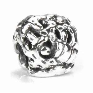 Coral & Starfish Solid Sterling Silver European Charm Bead Jewelry