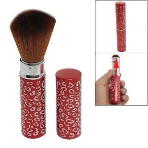 Synthetic Soft Hair Retractable Powder Brush for Ladies