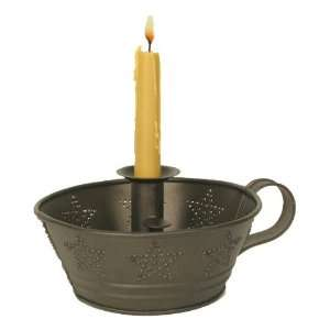 Star Dish Taper Candle Holder   Bronze, Set of 2 Home & Kitchen