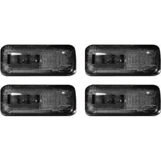 Recon 264131BK LED Fender Lights 2002 2007 Dodge RAM Dually (4 Piece