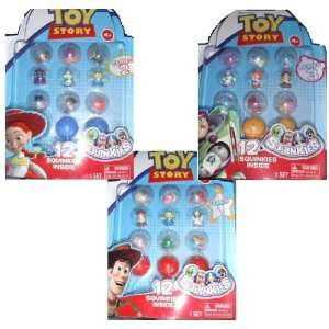 Squinkies Toy Story Bubble Pack Series 1 3  Toys & Games