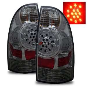 05 08 Toyota Tacoma LED Tail Lights   Smoke Automotive