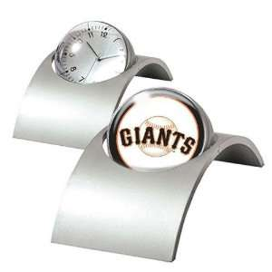 San Francisco Giants MLB Spinning Desk Clock