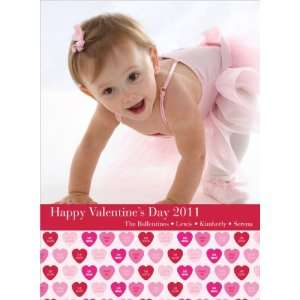Candy Hearts Valentines Day Photo Cards