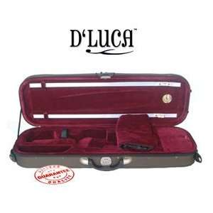 DLuca Pro Oblong Full Size 4/4 Violin Case With
