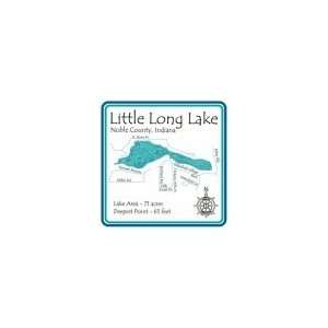 Little Long Lake Stainless Steel Water Bottle: Sports & Outdoors