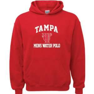 Red Youth Mens Water Polo Arch Hooded Sweatshirt Sports & Outdoors