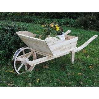 Flower Cart Rustic Planter Fir Wood Plant Stand: Everything Else