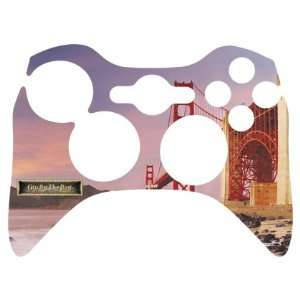 Bridge Winter Sunset Vinyl Skin for 1 Microsoft Xbox 360 Wireless