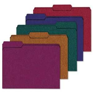 Ampad 100% Recycled Color File Folders, 1/3 Cut Tab, Letter Size (8.5