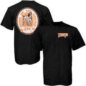 Tennessee Volunteers Black Howl of the Hound T shirt