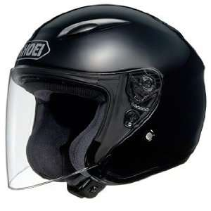 Open Face Metallic Motorcycle Helmet, Black Metallic, XXL Automotive
