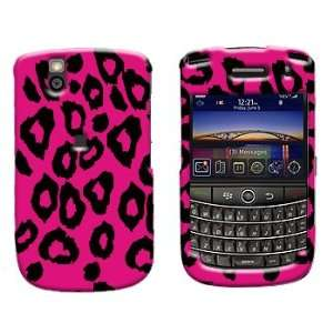 Premium   Blackberry 9630/Tour Hot Pink Leopard Cover