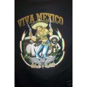 Viva Mexico Black T shirt