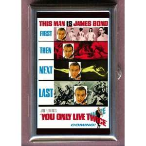 You Only Live Twice James Bond B Coin, Mint or Pill Box