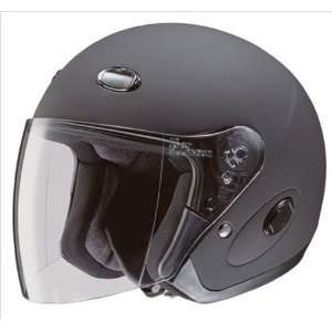 CL 33 Matter Black Open Face Motorcycle Helmet Size Large Automotive