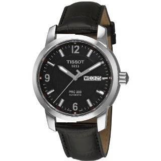 Tissot Mens T0444302605100 T Sport PRS 516 Black Day Date Dial Watch
