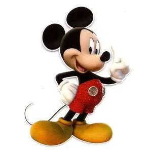 Mickey Mouse pointing pointer finger in air   number one Disney Iron