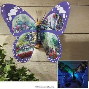 Color Changing Lighted Butterfly Wall Decor Everything