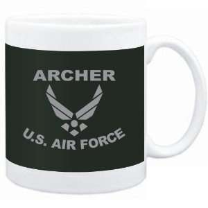 Mug Dark Green  Archer   U.S. AIR FORCE  Sports Sports