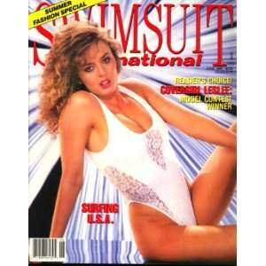 Swimsuit International Magazine (Ujena) June 1988 Pin Up Models