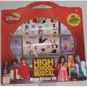 Disney High School Musical Mega 311 Stickers Kit  Toys & Games