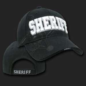 SHERIFF SHADOW DESIGN HAT CAP LAW ENFORCEMENT CAPS
