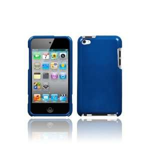 iPod Touch 4G Graphic Case   Blue (Front & Back): MP3