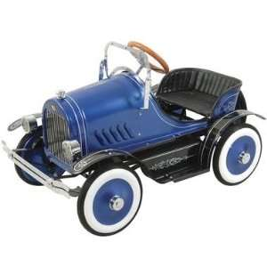Deluxe Blue Roadster Pedal Car Riding Toy Toys & Games