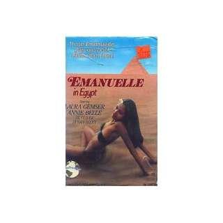 Emmanuelle in Egypt (Emanuelle) [VHS] Laura Gemser