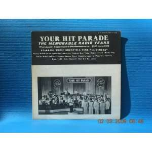 Your Hit Parade, the Memorable Radio Years. Previously