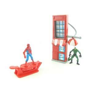Spider Man Flip N Trap Pizza Parlor Action Figure Play Set  Toys