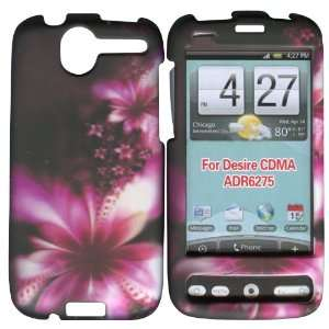 Hot Pink Flower HTC Desire (6275), CDMA G7 UK A8181 Case Cover Phone