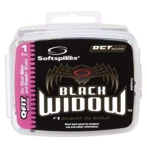 Softspikes Black Widow Q Fit Golf Spikes Kit Sports