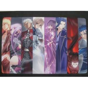 Fate/stay Night Saber Rin archer and more multi use play mat