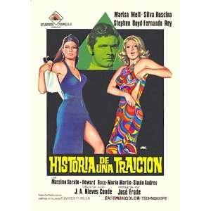 Historia de una traicion Movie Poster (11 x 17 Inches