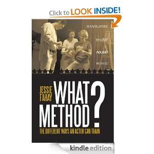 What Method? The Different Ways an Actor can Train Jessie Fahay