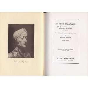 Dane and Giovanni Del Virgilio Dane Alighieri, Wilmon Brewer Books