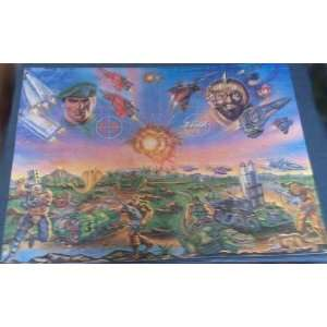 G.I. Joe Mural Puzzle Just Part of the Big Picture (Set