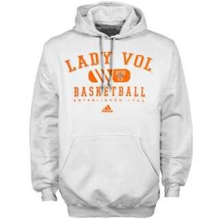 adidas Tennessee Lady Vols White Fanatics Hoody Sweatshirt