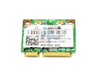 Dell 1510 PCI E WIRELESS WLAN Half Height Mini Card