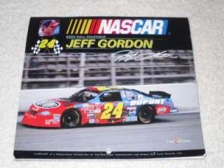 NASCAR Jeff Gordon Dupont 2003 Time Factory Wall Calendar