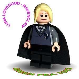 Lego HARRY POTTER Minifigure   CUSTOM   LUNA LOVEGOOD   RAVENCLAW