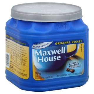 Maxwell House Coffee   Ground   Original   1 Canister (34.5 oz