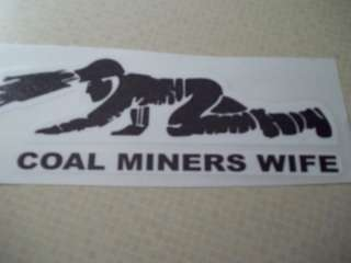 Coal Miners Wife Crawling Miner Coal Mining Stickers
