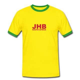 Yellow/green JHB, Johannesburg South Africa Mens Tees  Mens