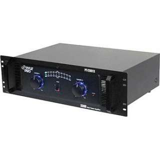Pyle Pro PT 2001X Stereo DJ Power Amplifier (1650W/Channel @ 8 Ohms)