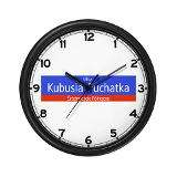 Ulica Kubusia Puchatka Warsaw (PL) Wall Clock for $15.00
