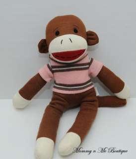 Dandee Dan Dee Collectors Choice Sock Monkey Plush Toy